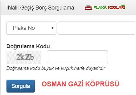 2019 Osman Gazi Köprüsü Hgs Sorgulama İşlemleri Nasıl Yapılır?